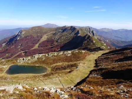 Lago Piatto Monte Gomito