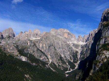 Val delle Seghe Campanili di Brenta Sfulmini